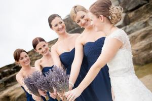 Lavender - bride and maids