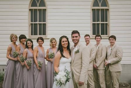 frankie wedding Party